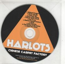 (GX534) Harlots, Chinese Carpet Factory - 2015 DJ CD