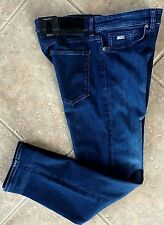 Hugo Boss Black Maine 3 Jeans 36 30 Regular Stretch Dark Denim 50302187 NWT $135