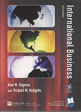 International Business by Alan M. Rugman and Richard M. Hodgetts (2003 + CD Rom)
