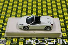 Original Ferrari 458 Spider bianco 27 Modellauto 1:43 MR Collection wie BBR
