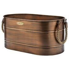 """Smith & Hawken Log Holder with Rope Handles 10x13x23"""""""