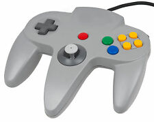 Grey Controller For Nintendo 64 N64  Game pad Joystick Analogue JoyPad