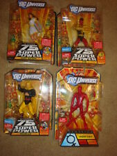 NEW DC UNIVERSE CLASSICS Hourman , Mercury, Mary Batson, TYR 6 INCH FIGURE LOT 4