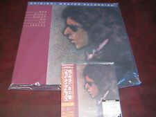 BLOOD ON THE TRACKS BOB DYLAN MFSL 180 GRAM LP + JAPAN REPLICA ORIGINALOBI CD