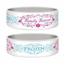 Disney Frozen 'Family Forever' White Rubber Wristband / Bracelet