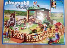 PLAYMOBIL City Life Art.6635 Streichelzoo mit Gehege Unterstand 74 teilig