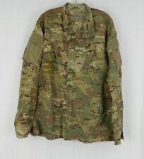 USGI Army Military Multicam ACU Medium Long Coat Shirt Flame Resistant