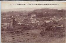 CP 63 PUY-DE-DÔME - Mauzun - Vue générale prise du Château