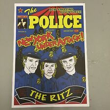 THE POLICE ( STING ) CONCERT POSTER THE RITZ NEW YORK CITY (A3 SIZE)