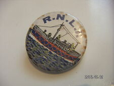 OLD RNLI PICTURE BADGE