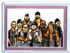 TNA Aces & Eights #100 2013 Impact Wrestling GLORY RAINBOW Parallel Card 1 of 1