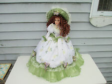 "24"" Vanessa Ricardi Porcelain Doll Red Hair Green Eyes Series 2002"