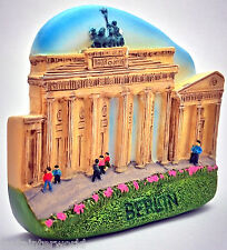 Brandenburg Gate Arch Tor Berlin Germany German 3D Fridge Magnet Refrigerator