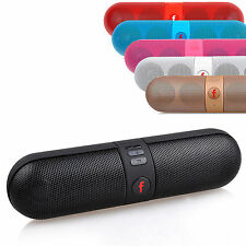 Portable Shockproof Bluetooth Wireless FM Stereo Speaker For SmartPhone Tablet