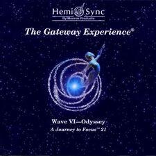 Hemi Sync Gateway Onda VI 6 - Odyssey CD nuovo Cofanetto Meditazione Relax