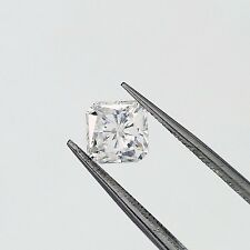 1.17 ct Radiant Cut F SI1 Diamond Classic Style Engagement Ring 14k Gold