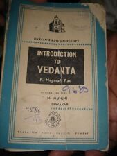 INDIA - INTRODUCTION TO VEDANTA , RAMAYANA & THE MESSAGE AND MISSION OF INDIA