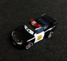 Custom Disney Cars Police Car Lieutenant Lightning Mcqueen 1/55 Diecast