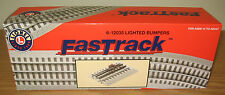LIONEL 6-12035 FASTRACK LIGHTED BUMPERS PAIR 2 PER PACK TRAIN FAST TRACK O GAUGE