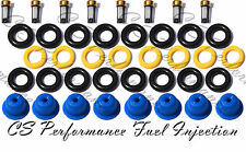 1133-11318 Fuel Injector Repair Kit ORings Filters Caps for Ford 5.4 CNG CSKBO18