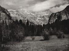 1927 Vintage FRANCE Cirque du Fer-a-Cheval Mountain Landscape Photo By HURLIMANN