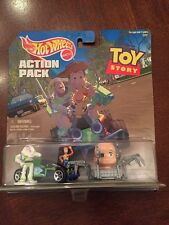 Hot Wheels Action Pack Toy Story Baby Face & RC Car Die Cast 1:64, MISP