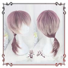 Japanese Vintage Gothic Lolita Harajuku Sweet Purple Gradient Men Cosplay Wig