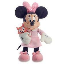BABY'S MINNIE MOUSE PLUSH ATTACHED PLUSH KITTY AUTHENTIC DISNEY STORE PATCH NWT