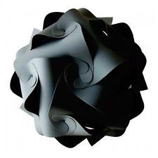 Abat-jour kit rétro puzzle abat-jour plafond lanterne pendentif 25cm noir £ 5.99