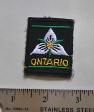 Ontario, Boy Scouts Canada Badge, Patch, New