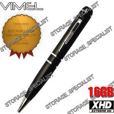 Security Camera Pen Camera 16GB Body Police Cam 1080P Vimel Video NO SPY Hidden