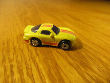 VINTAGE MICRO MACHINES 90'S MAZDA RX-7 YELLOW & PINK GALOOB 1989 CHINA