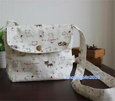 Japanese Game Neko Atsume ねこあつめ Cute Cat shoulder Canvas Bag Girls Handbag New