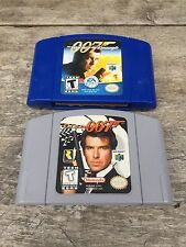 GoldenEye 007 & The World Is Not Enough 007 (Nintendo 64, 1997) Lot