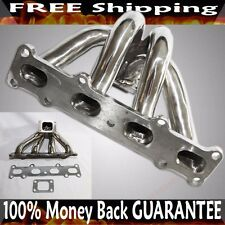 Stainless Steel turbo Manifold for 94-05 Mazda Miata MX5 1.8L DOHC 25/T28 Flange