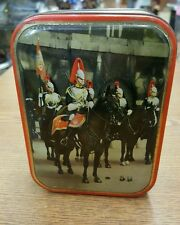 Vintage Toffee Candy Edward Sharp England Metal Tin Suppliers of Confectionery
