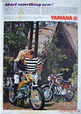 1967 Yamaha 'Trailmaster 100' 'Big Bear' Motor Cycles ADVERT - Original Print Ad