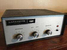 Vintage- 1960's - Lafayette  - PA 622A  - Tube Amp - Powers Up !
