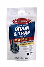 NEW ROEBIC K-67 16OZ BAG PIPE SINK DRAIN & TRAP CLEANER SALE 9599655