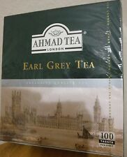 Ahmad Tea London Earl Grey Tea - 100 Tea Bags