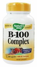 Nature's Way Vitamin B-100 Complex 100 Capsules