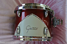"GRETSCH '57 RENOWN 12"" RACK TOM in MOTOR CITY RED for YOUR DRUM SET! LOT #J564"