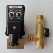 """220V AC 1/2"""" Automatic Electronic Timed Air Compressor Drain Tank Valve"""
