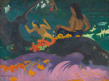 Fatata te miti, by the sea Paul Gauguin mujeres mar playa Baden B a3 02999
