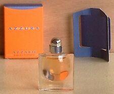 Miniature de parfum Azzura d'Azzaro (EDT) 5ml plein avec boite