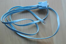 Cisco Console Blue Flat Cable 72-3383-01 RJ45M to DB9F 1.8m for Cisco 28XX etc