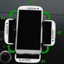 Adjustable Car Air-Vent Universal Phone Mount Dock Holder iPhone and Galaxy S3
