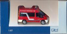 Rietze: Feuerwehr,Mannheim - Ford Transit 06
