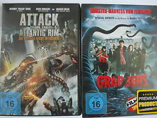 Horror Alien Monster Fantasie Sammlung - Attack from the Atlantic Rim & Grabbers