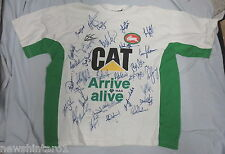 #DD2.  SIGNED  SOUTH SYDNEY RABBITOHS   RUGBY  LEAGUE  SUPPORTER    TOP
